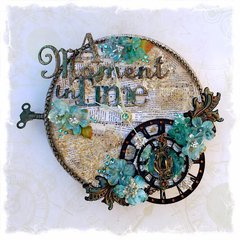 ~Swirlydoos Kit Club~ Altered Clock