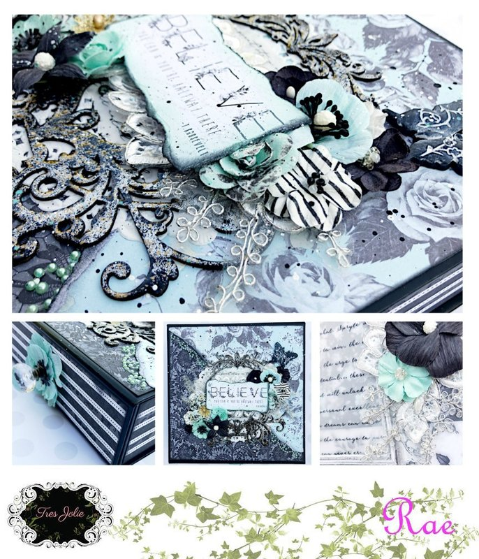 Believe Altered Box for Tres Jolie Kit Club