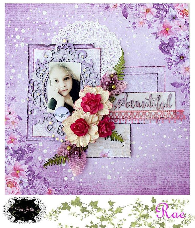 #beautiful for Tres Jolie Kit Club