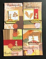 Thanksgiving ATC's