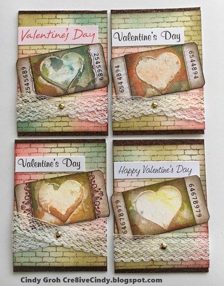 Valentine ATC's