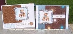 Baby Bear Boy cards