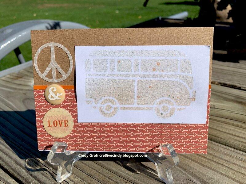 Peace Bus card