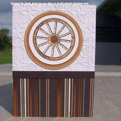 Masculine Wheel Card