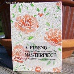 Friend Masterpiece Card
