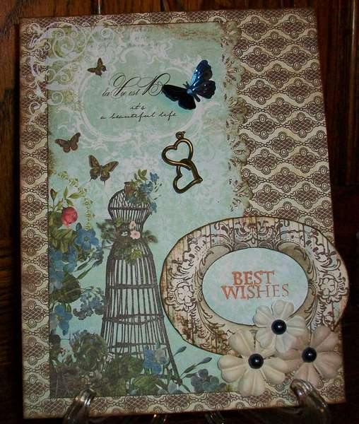Best Wishes Wedding Card