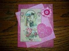 Vintage Valentine Card/Tag