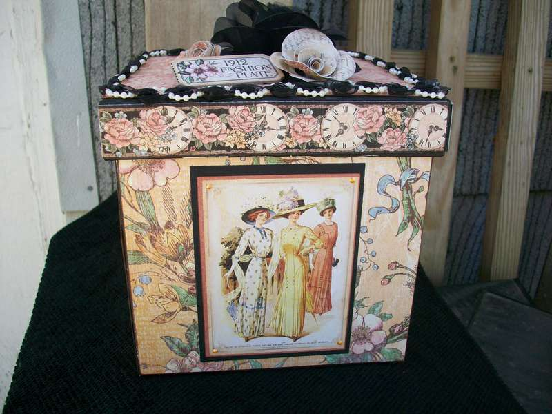 Altered A Ladies' Diary Box