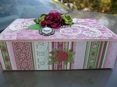 English Rose Altered Cigarbox