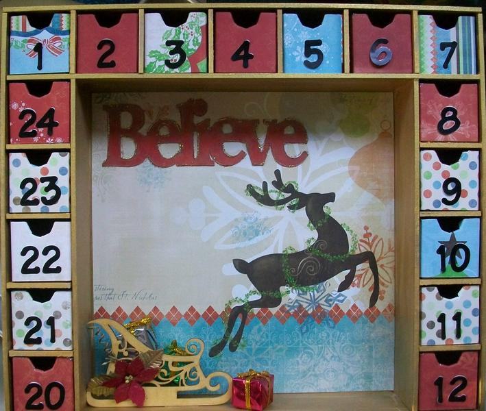 """Believe"" Advent Calendar"