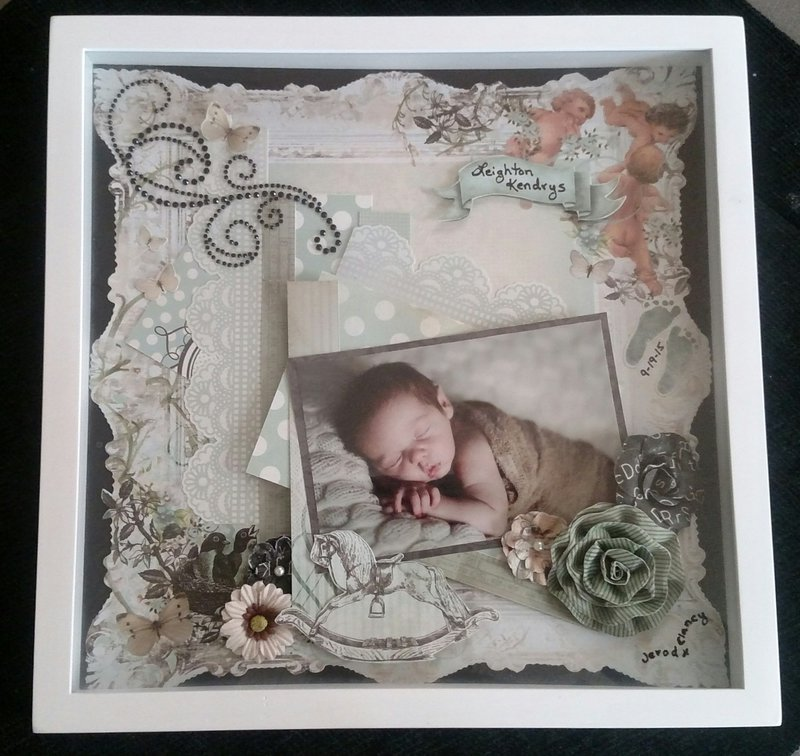 Bundle of Joy Shadowbox