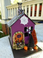 Halloween Witches' Cottage