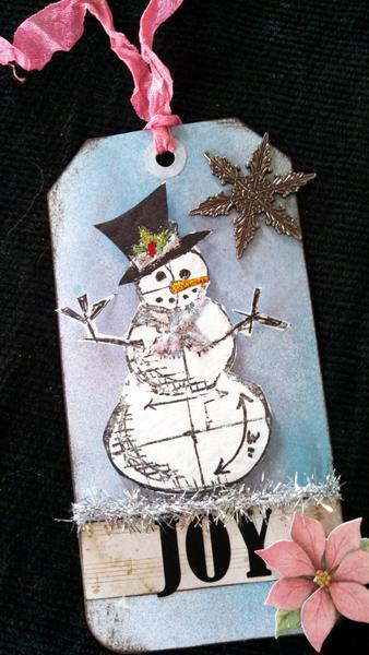 Tim Holtz Style Tag