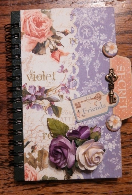Altered Mini-Notebook