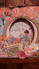 Secret Garden Shadowbox