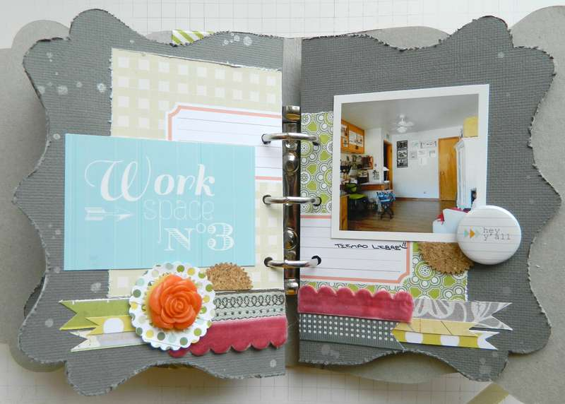 Work Space Mini Album PG3