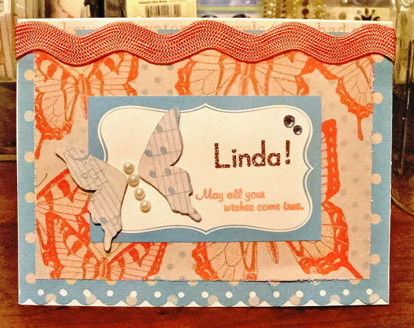 Linda's B-Day Card