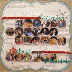 December Calendar Layout