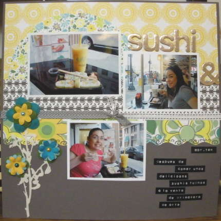 Sushi & Art Show Pg1