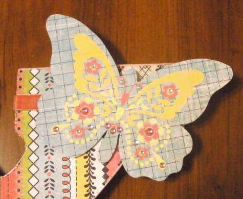 Letter Y-Butterfly