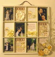 Wedding ATC Tray