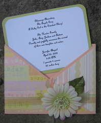 Birth Announcement Sample Criss Cross