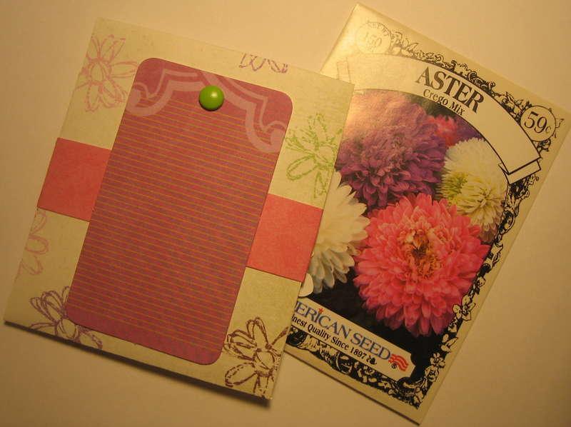 Card - Feel Better - Aster Seeds - Back '08