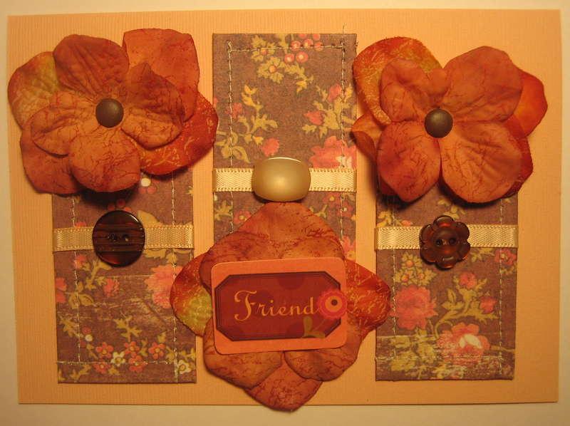Card - Friend Flowers '08
