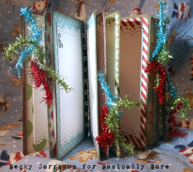 Basically Bare and Xyron Mini '25 Gifts of December 2012' Album / Diary