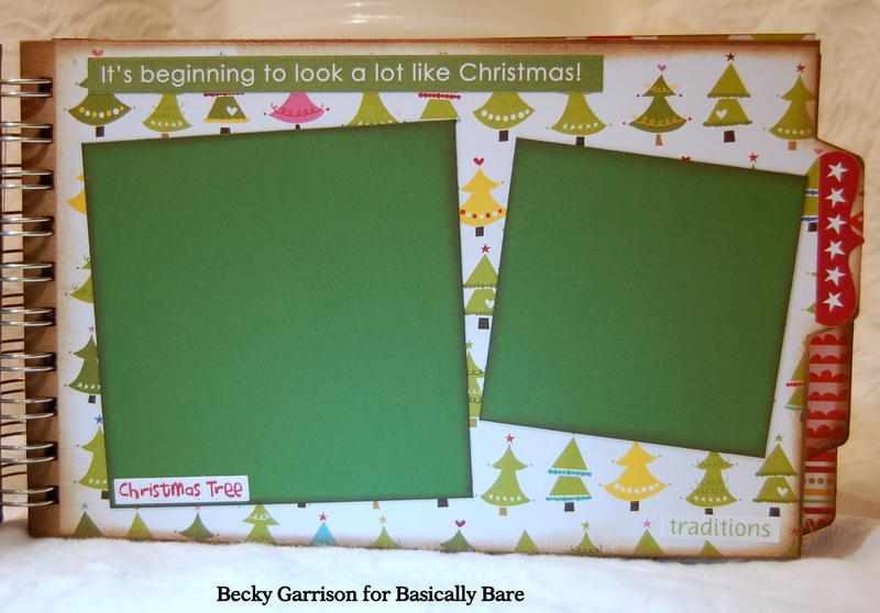 Basically Bare / Bella Blvd Blog Hop 'Christmas Fun' Mini Album Page 3