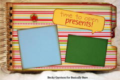 Basically Bare / Bella Blvd Blog Hop 'Christmas Fun' Mini Album Page 9