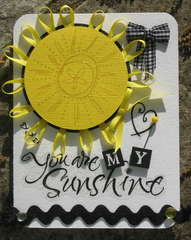 Sunshine - B&W+1 Challenge