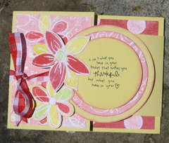 Thankful - Joy Fold Card