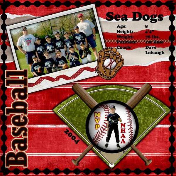 Sea Dogs - Joshua Baseball
