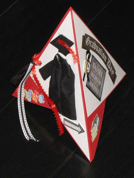 Tee Pee Graduation Card
