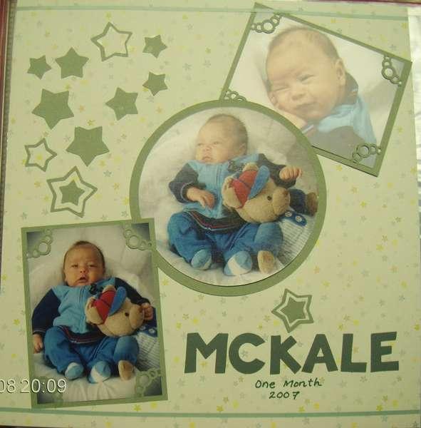 my 1st page - McKale