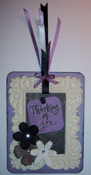 Thinking of You (Black/Lilac/Ivory)