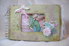 LIFE Mixed Media Mini Album