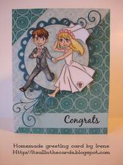 Congrats Wedding Card