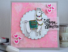 i Llama Love YOU Card