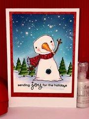 Sending joy for the holidays - Card