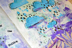 April Showers Art Journal