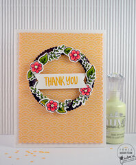 THANK YOU Card - Tonic Woodland Walk Craft Kit #20