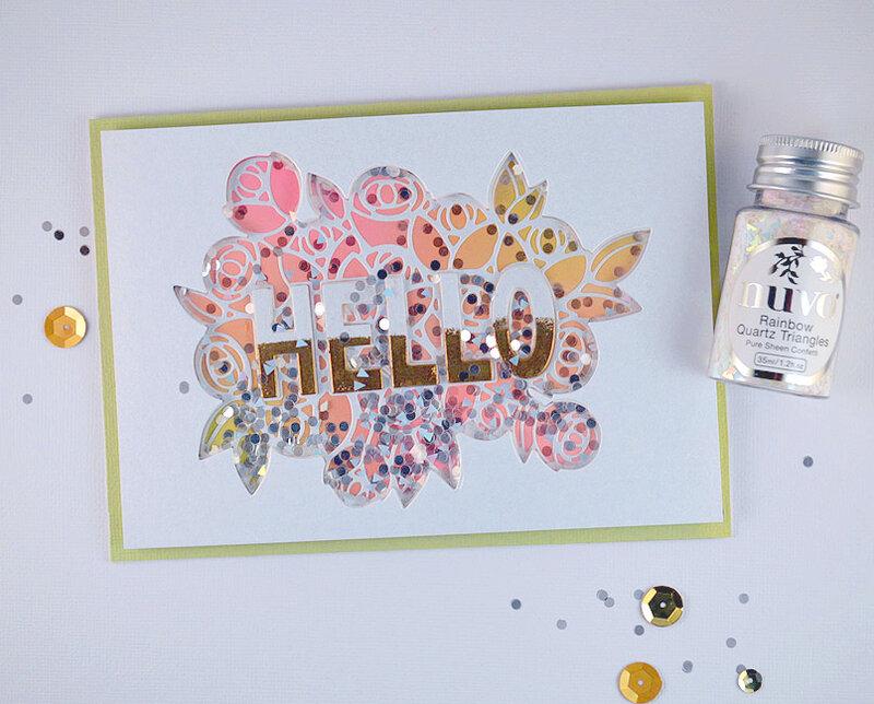 HELLO Card - Spring Fling Hop