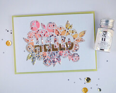 HELLO Card - Spring Fling Hop