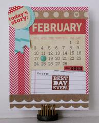 Birthday Card - February 18th