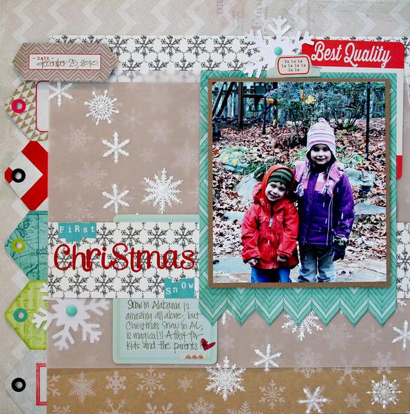 FIRST Christmas SNOW