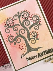 'happy AUTUMN' card