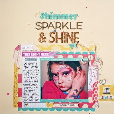 shimmer, SPARKLE & SHINE