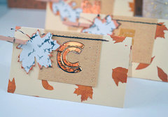 Thanksgiving Name Place Cards - The Crafter's Workshop